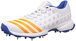 adidas Mens Sl22 Ftwwht, Borang and Blue Cricket Shoes - 11 UK/India (46 EU)