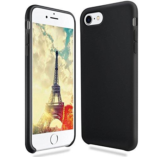 iPhone 8 Hülle, Fuleadture iPhone 7 Liquid Silikon Schutzhülle Flüssigsilikon Mikrofaser Case Cover für iPhone 7/ 8