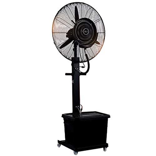 ZRN-Lüfter Tragbare Hochgeschwindigkeitsventilatoren Industrielle Gewerbliche Kühldepot-Deckenventilator Turmventilator 81 cm Home Outdoor Indoor Vernebelungsventilator Schwarz 220V / 50Hz -