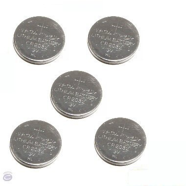 5 x Ex-Pro Puissance élevée CR2032 CR-2032 3v Lithium Batteries - (Lot de 5 Piles bouto) MEMOIRE BATTERIE