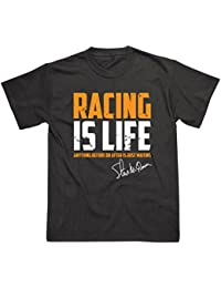 Racing is Life Steve McQueen Inspired Le Man 24hr T-Shirt