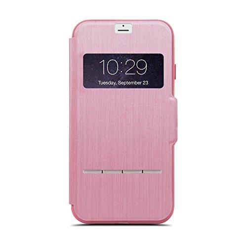 Moshi 99MO072307 Folio Rosa Funda para teléfono móvil - Fundas para teléfonos móviles (Folio, Apple, iPhone 7, Rosa)