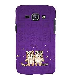 EPICCASE Posing Tiger Mobile Back Case Cover For Samsung Galaxy J2 (Designer Case)