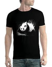 avocadoWEAR Panda Gigante Oso Panda Hombre Camiseta XS-5XL