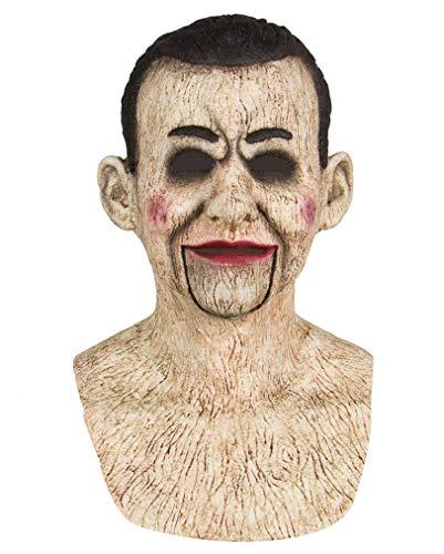 maske Einer Bauchredner Puppe aus Silikon ()