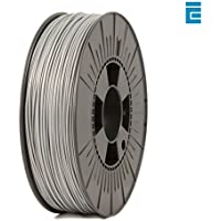 ICE FILAMENTS ICEFIL1PLA116 PLA Filament, 1.75 mm, 0.75 kg, Sparkling Silver
