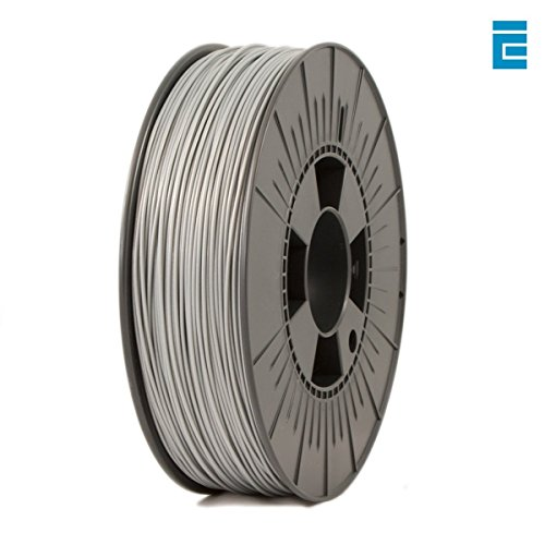ICE Filaments ICEFIL1ABS088 ABS filament, 1.75mm, 0.75 kg, Sparkling Silver