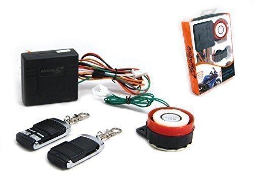 Motorrad Kompakt Alarmanlage 12V 12 Volt mit Fernbedienung Universal für Motorrad Roller Quad Nicht Aufdringlich Kein Schneiden Drähte Batterien 27a 12v Alarm
