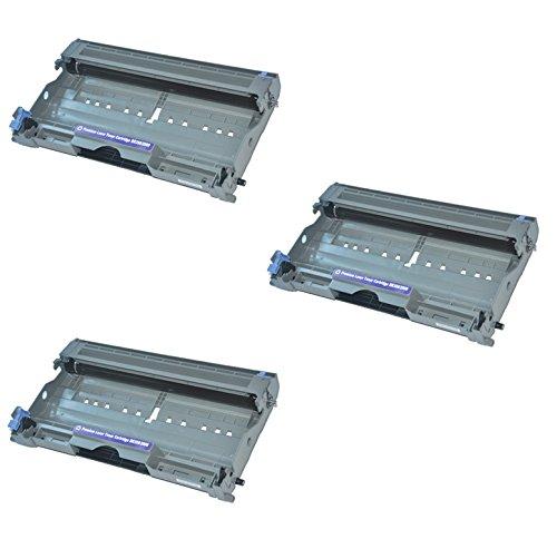 3x Trommeleinheit kompatibel für Brother DR2000 DCP-7010 DCP-7010L DCP-7020 DCP-7025 FAX-2820 FAX-2920 HL-2030 HL-2032 HL-2040 HL-2050 HL-2070N HL-6050D HL-6050DN MFC-7220 MFC-7225N MFC-7420 MFC-7820N - Brother 2070n Ersatz-trommel