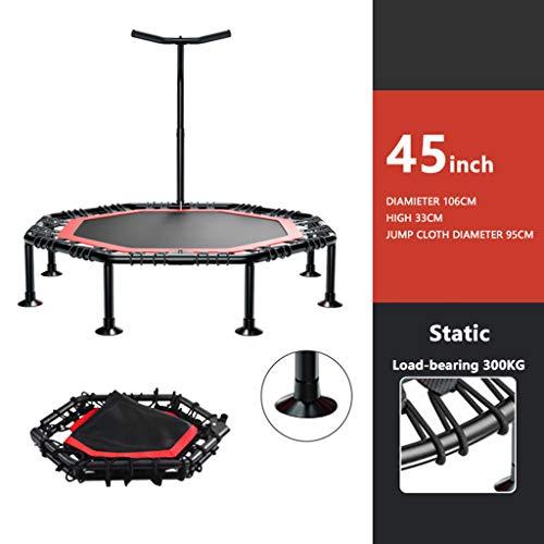 Trampolin Zu Hause Gewichtsverlust Erwachsenen-Fitness Abnehmen-HüPfen Trampolin-Kinder Indoor-üBung-Falten Trampolin-Tragbares Trampolin