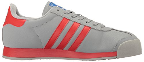 Adidas Samoa Cuir Baskets Mid Grey Poppy/Satellite