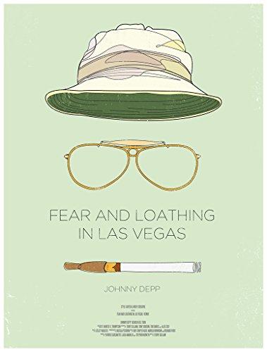 Angst und Abscheu in Las Vegas (1998) Film Poster, Papier / Fotopapier, A6(Sample)
