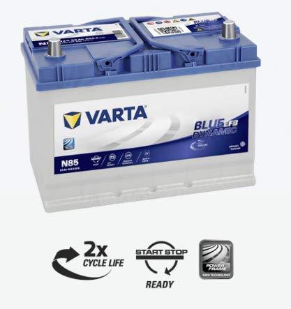 batteria Varta N85Blue Dynamic EFB 12V/AH/800A 306X 173X 225