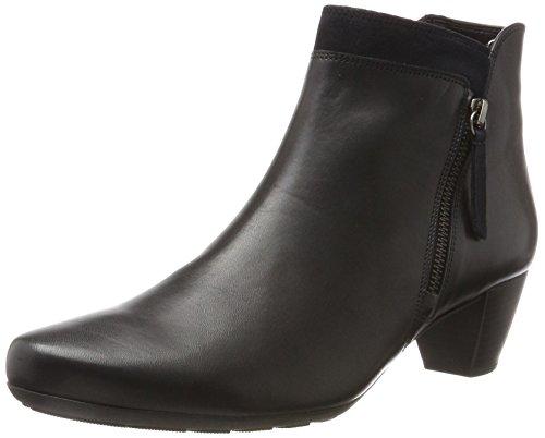 Gabor Shoes 72.821, Stivaletti Donna Nero (56 River Micro)
