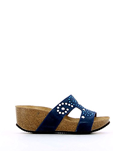 Grunland CB0243 Sandales Femmes Jeans