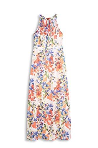 ESPRIT Collection Damen Kleid Mehrfarbig (Off White 2 111)