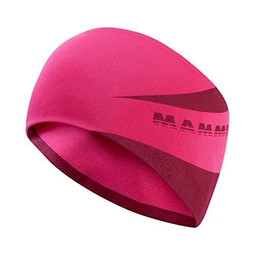 Mammut Sertig Headband Stirnband, Dark pink, one Size