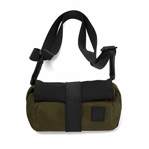 Crumpler SnapBag M SB-M-004 Multifunktionale Kamera-Tasche gepolsterte Schutzhülle grün / braun