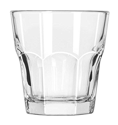 12 x Wasserglas, Trinkglas, Glas, transparent, 26 cl, Ø 8.6 cm, Höhe: 9.1 cm Libbey Tumbler Set