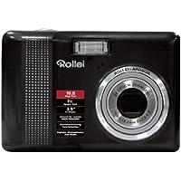 Rollei Compactline 130 Digitalkamera (10 Megapixel, 3-fach opt. Zoom, 6,4 cm (2,5 Zoll) Display) schwarz