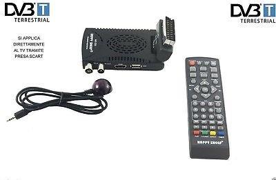 Mini décodeur numérique terrestre DVB T2 Péritel 180 USB HDMI HD 333