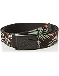 vans Shredator Web Belt, Ceinture Homme, Multicolore (Black Decay Palm Kvr), 115 (Taille Fabricant: OS)