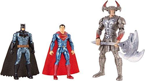Rejouez les combats épiques du film Justice League avec ce coffret de figurines !Contenu :- 1 figurine de Batman- 1 figurine de Superman- 1 figurine de Steppenwolf avec accessoire