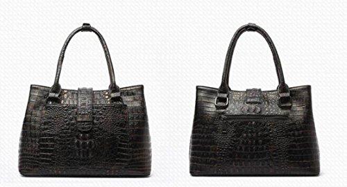 Damen-empfindliche Krokodil-Muster-Lederhandtaschen Europa Und Die Staat-Art- Und Weiseklassische Handtaschen-Handtaschen-Diagonalpaket B