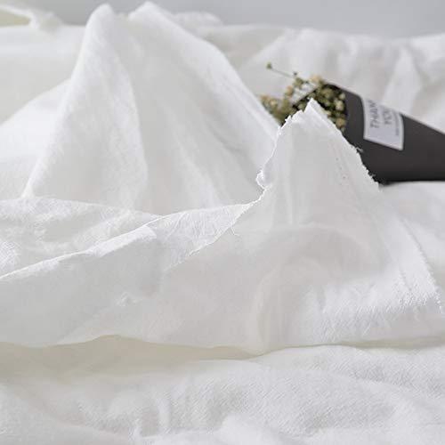 Garden hall Weißer Hintergrund-Stoff-Lappen-Baumwollstoff-Foto-Schießen-Hintergrund-Stoff-kalte japanische Art (Size : 100CMx70CM)