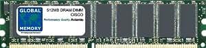 512Mo DRAM DIMM MÉMOIRE RAM POUR CISCO 2811 ROUTEUR (MEM2811-512D , MEM2811-256U768D)