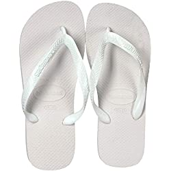 Havaianas Top, Chanclas para Unisex Adulto, Blanco (White), 39/40 EU (37/38 Brazilian)