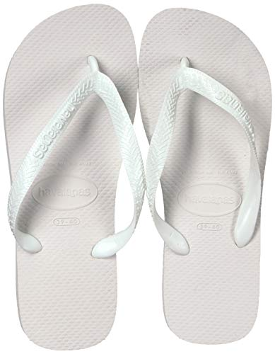 Havaianas Top, Chanclas para Unisex Adulto, Blanco (White), 49/50 EU (47/48 Brazilian)