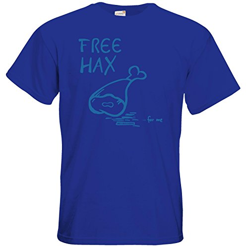 getshirts - Die Grillshow - The Shop - T-Shirt - Free Hax blau Royal Blue