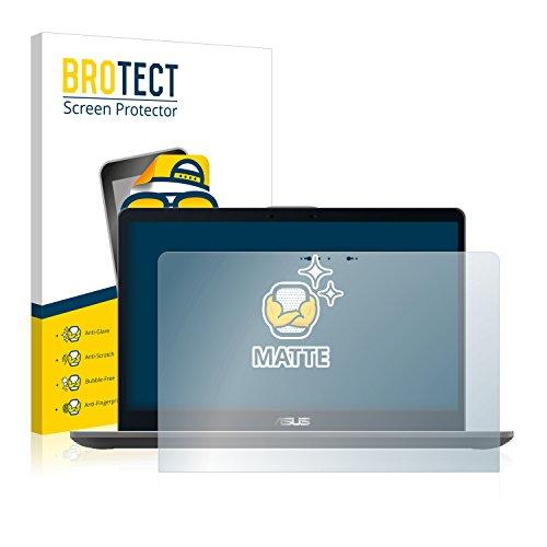 BROTECT Schutzfolie Matt kompatibel mit Asus Zenbook Flip 15 UX561 - Anti-Reflex, Anti-Fingerprint, Anti-Kratzer