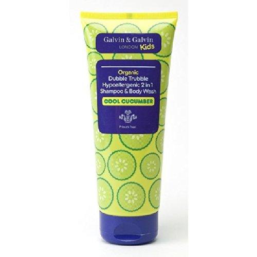 2in1 Daniel Galvin Dubble Trubble refroidissent Concombre Shampooing et Bodywash 200ml