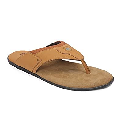 Red Chief Leather Men's Rust Hawaii Thong Sandals-10 10 UK/India (44 EU) (RCOF8006 022)