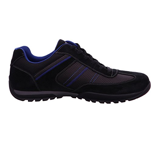 Dockers By Gerli 36ht014-201-100, Black Chaussures À Lacets Pour Hommes