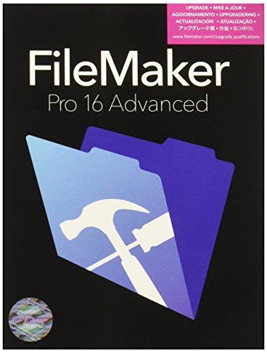 FileMaker Pro Advanced - (v. 16) - Box-Pack (Upgrade) - 1 Benutzer -Upgrade von FileMaker Pro 13,14,15,16 / FileMaker Pro Advanced 13,14,15 - Reg., Corporate / Unternehmens- - Win, Mac - Mehrsprachig