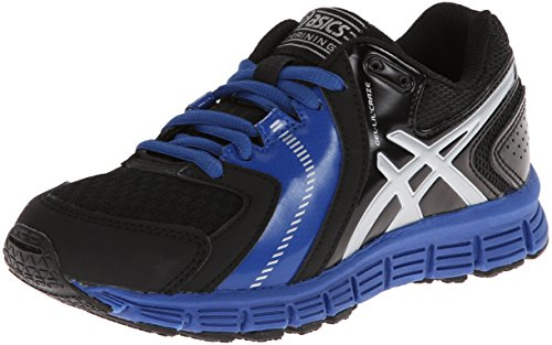 Asics Gel-Lil' Craze Training Jugend US 7 Schwarz Cross-Training (Training Schuhe Asics Cross)