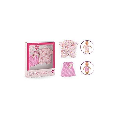 Corolle - FBM69 - Dressing Rose Pour Mini Poupon 20