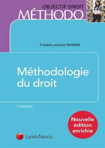 Méthodologie du droit par Frédéric-Jérôme Pansier