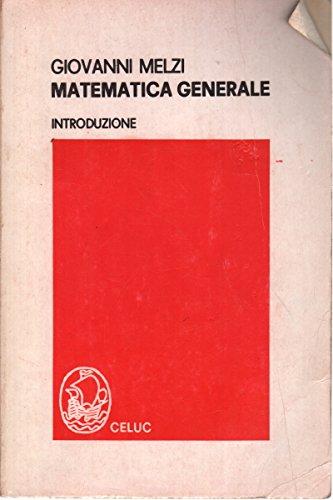 Matematica generale - Introduzione