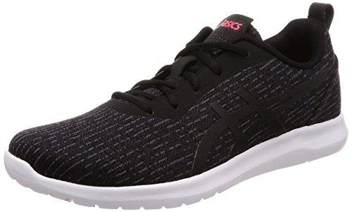Asics Kanmei 2, Zapatillas de Running para Mujer, Negro (Black/Black 001), 42.5...