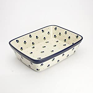 Polish Pottery Small Lasagne Dish – Sloeberry – 25 x 19cm