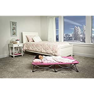 Regalo My Cot Portable Toddler Bed, Pink   1