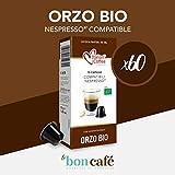 60 capsules Thé - Infusion - Tisane compatibles Nespresso (Orge Bio)