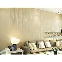 Hermoso Reflectante Flash Stripe Wallpaper Moderno y elegante Sólido Salón 3D Wallpaper Gris Rosa Blanco 10 * 0.53m