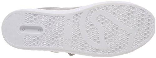 Remonte R5501, Scarpe da Ginnastica Basse Donna Grigio (Staub/argento)