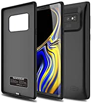 RDX - Galaxy Note 9 Battery Case, 6500mah Rechargeable Extended Battery Charging Case Protective Battery Pack
