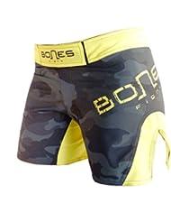 """Bones Fight"": Fight shorts para mujeres, women´s MMA short, MMA short para mujeres, BJJ, Women´s grappling short, women´s free fight short (S)"